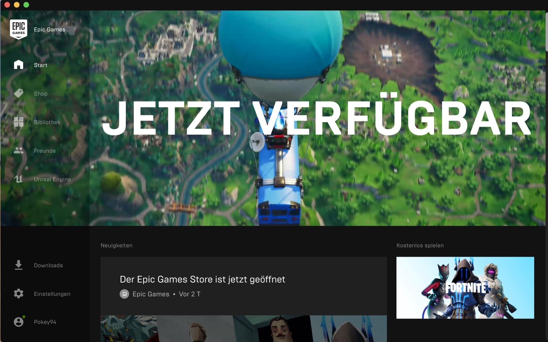 Epic Games Store: Lanzamiento con juegos gratis y exclusivos - Notebookcheck