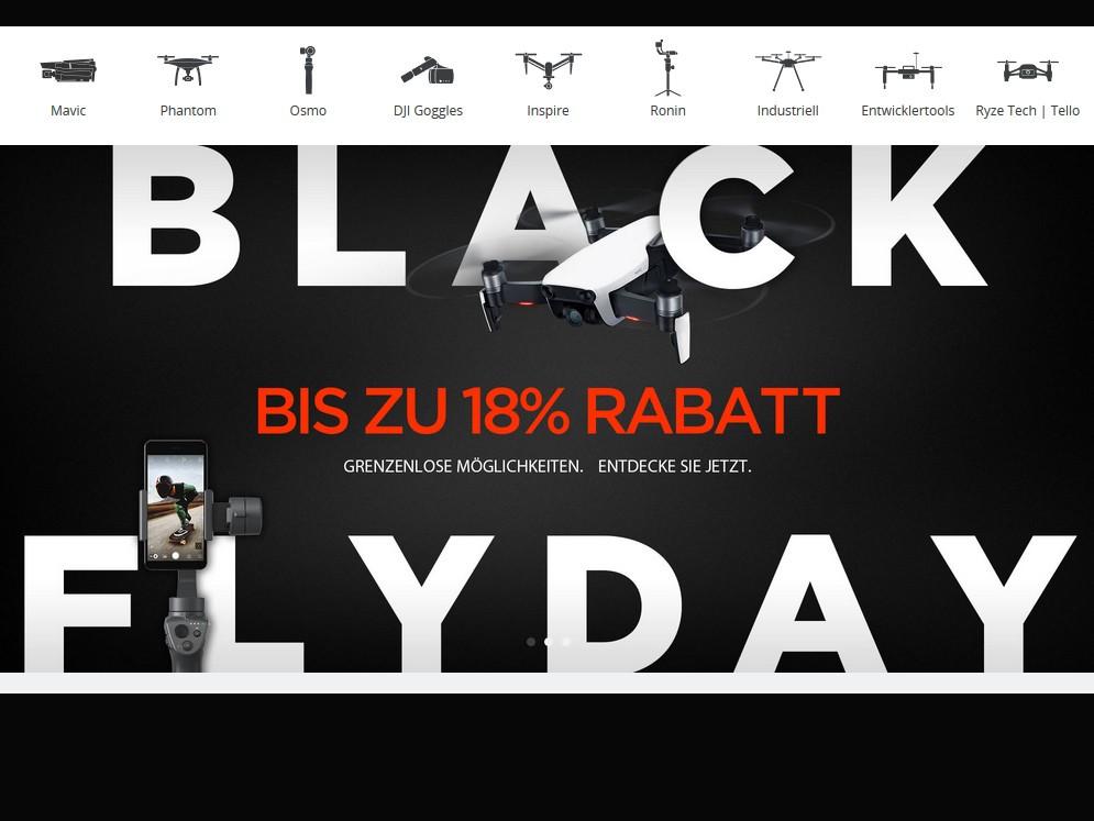 black friday die besten angebote von dji notebookcheck. Black Bedroom Furniture Sets. Home Design Ideas