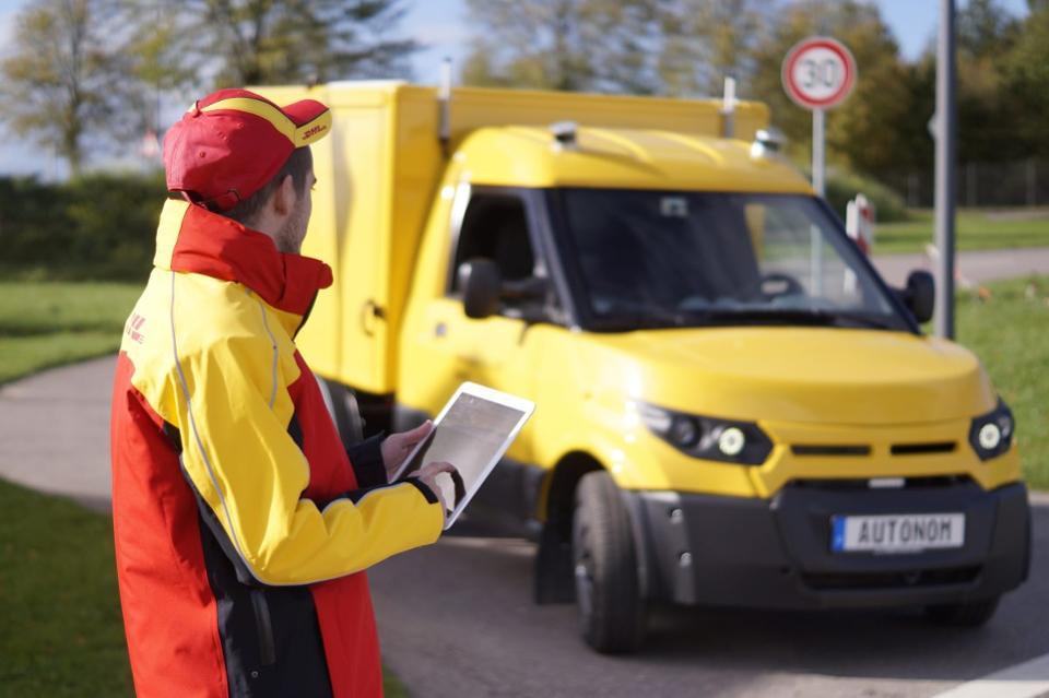 DHL: Autonome Lieferwagen mit KI von ZF und Nvidia