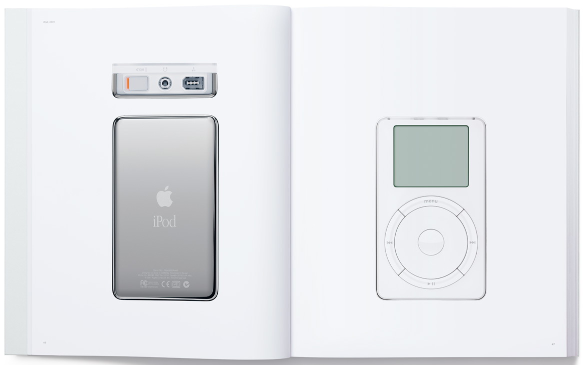 Apple fotobuch ber 20 jahre design bei apple for Apple product book