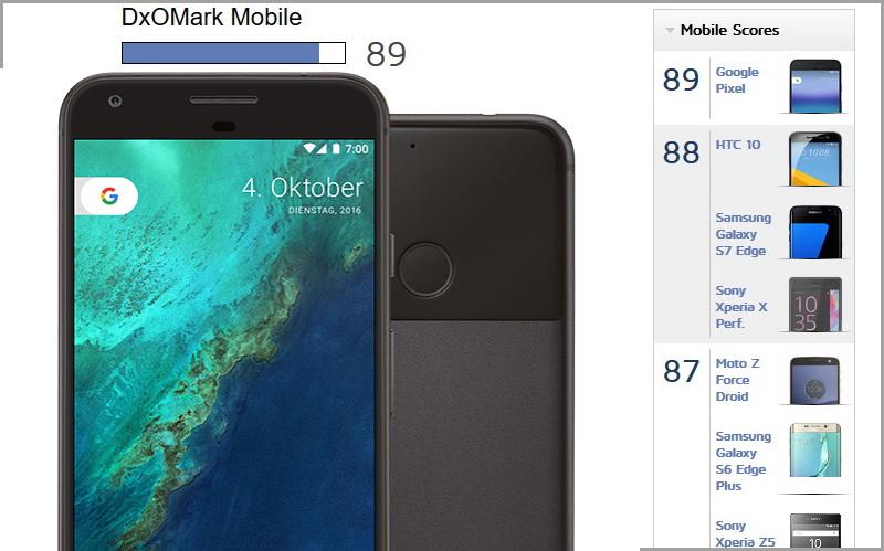 google pixel smartphone beste kamera im dxomark mobile news. Black Bedroom Furniture Sets. Home Design Ideas
