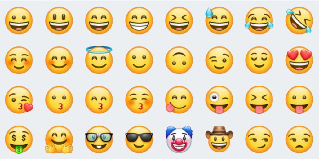 Whatsapp spiel smiley