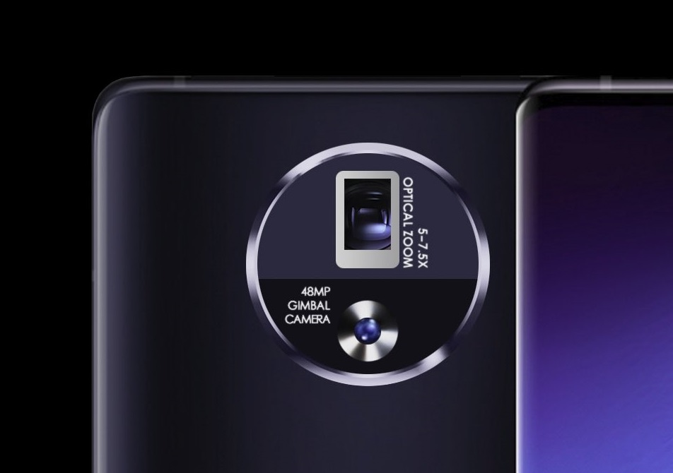 Erstes Gimbal im Handy: Vivo Apex 2020-Konzeptphone mit echter ...