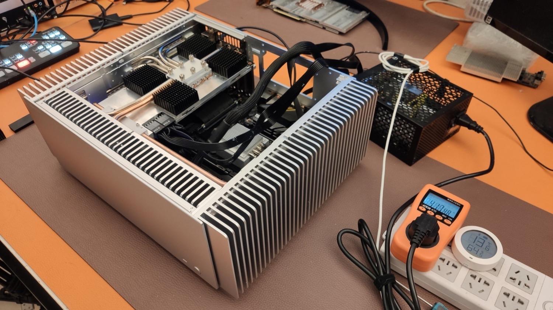 Dieser lautlose Mini-PC setzt auf eine Nvidia GeForce RTX 3080 - Notebookcheck.com