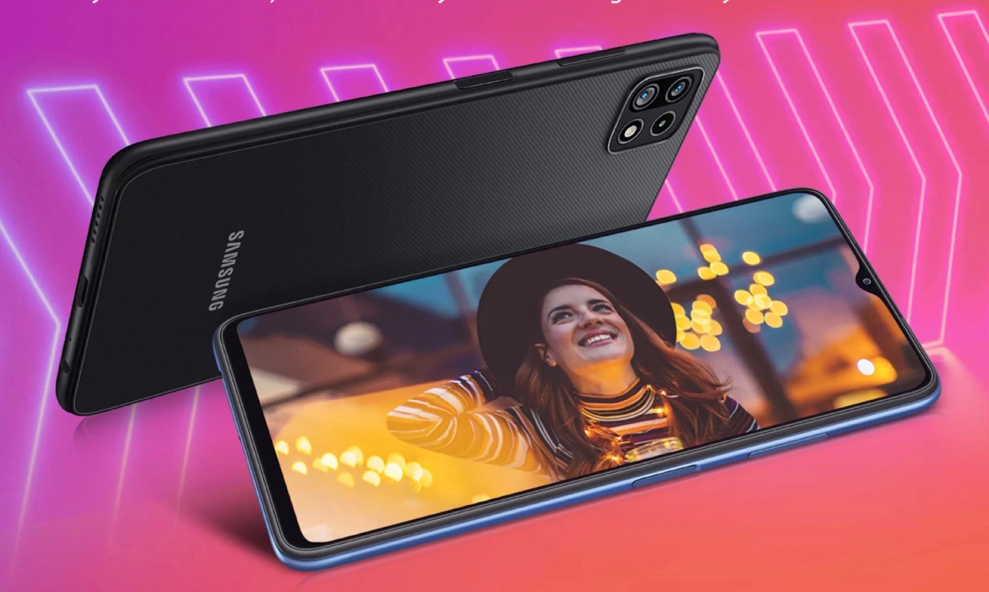 Samsung enthüllt das Design des Galaxy F42 5G mit 5.000 mAh Akku und 64 MP Triple-Kamera