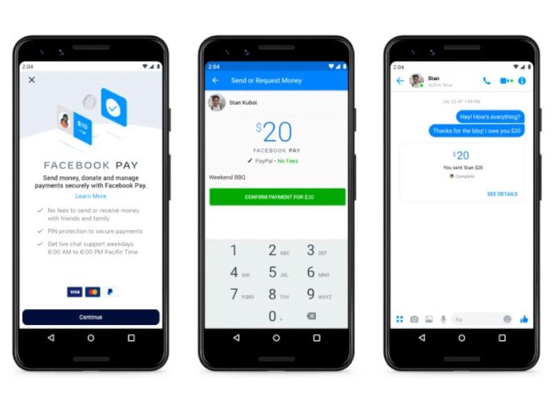 Facebook Pay startet in den USA, kommt auch für WhatsApp und Instagram
