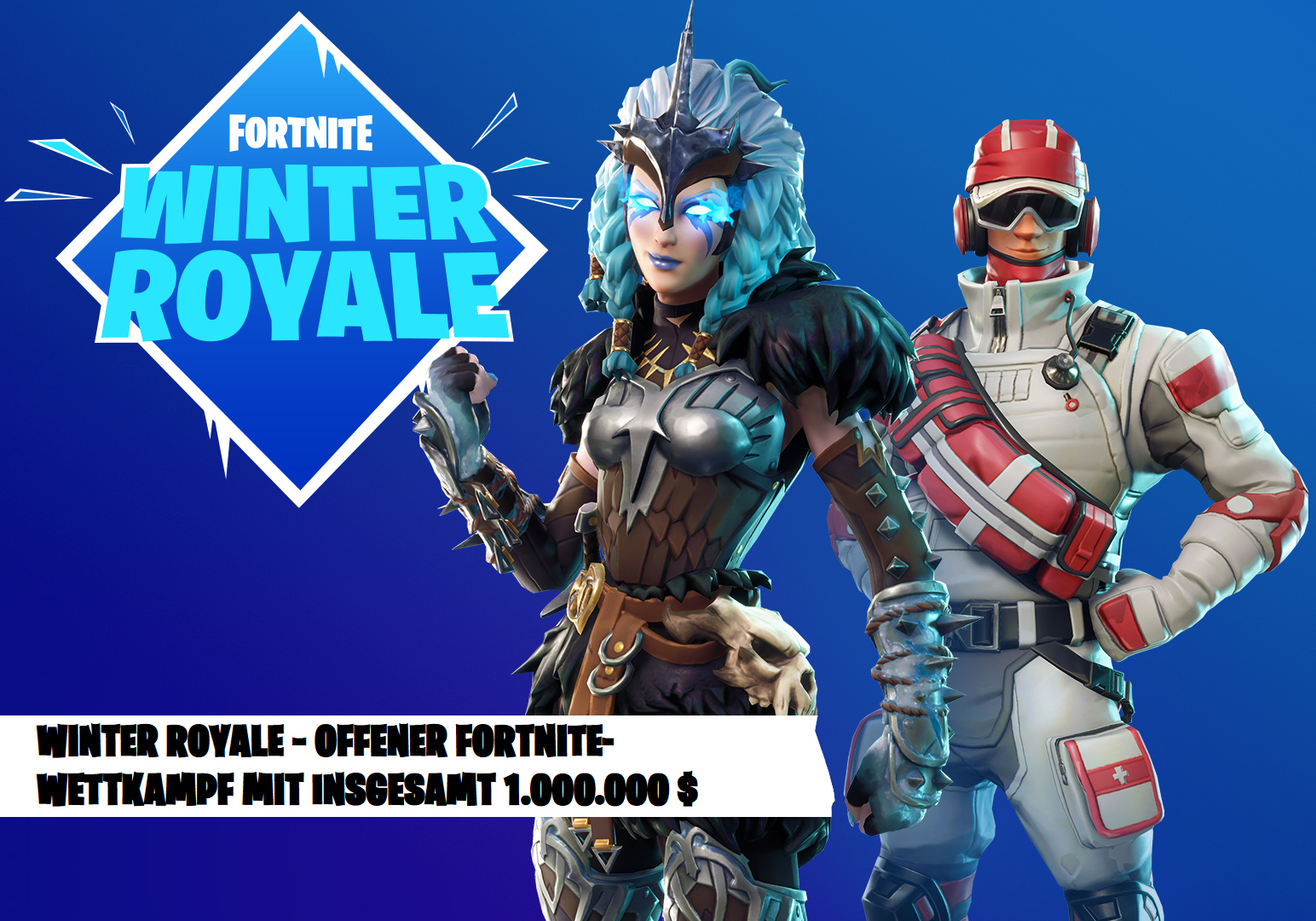 fortnite winter royale turnier mit 1 million preisgeld. Black Bedroom Furniture Sets. Home Design Ideas