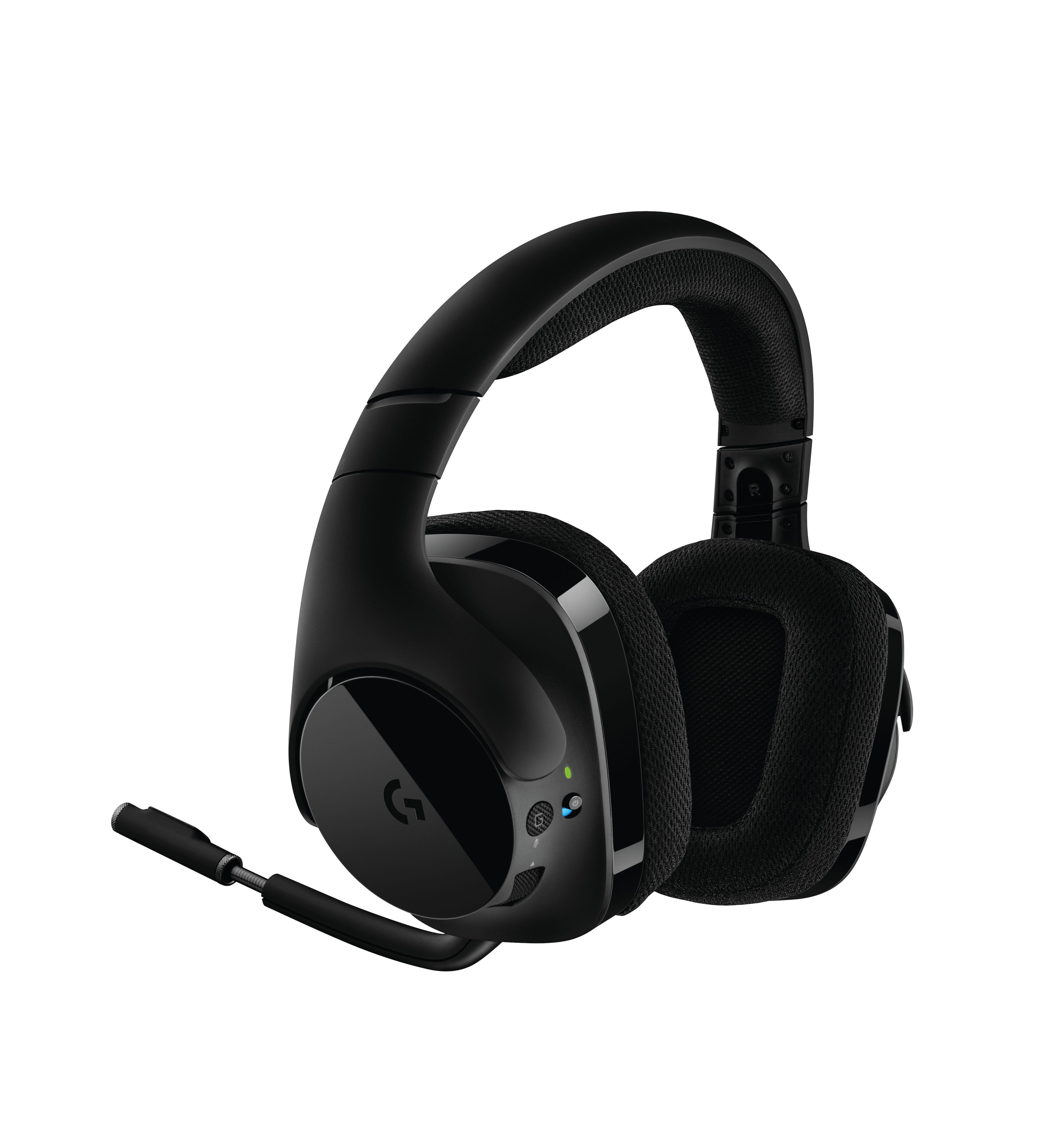 logitech g533 wireless gaming headset vorgestellt. Black Bedroom Furniture Sets. Home Design Ideas