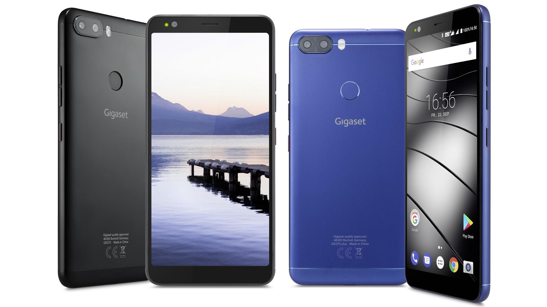 Gigaset GS370 (Plus) mit 18:9-Display und Dual-Kamera vorgestellt