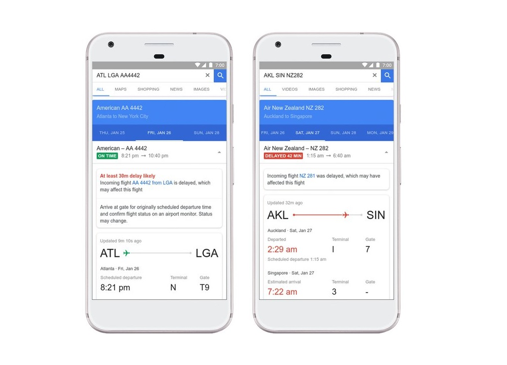 Google Flüge: Künstliche Intelligenz erkennt Verspätungen jetzt noch vor den Airlines