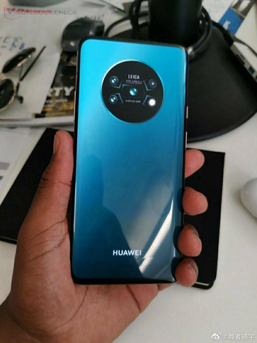 Huawei testet für das Mate 30 angeblich ein Glas-Unibody