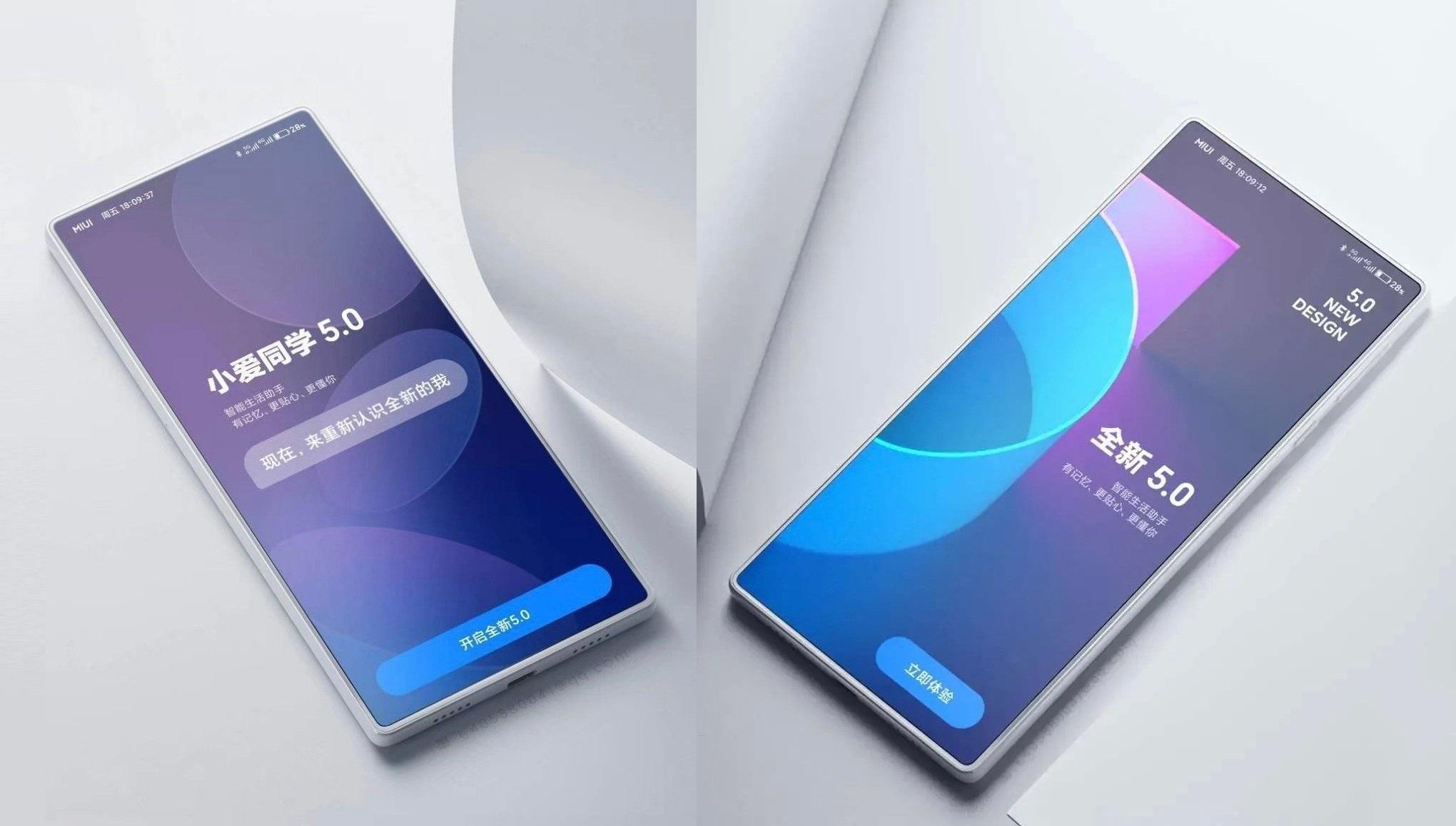 Xiaomi Mi Mix 4 absolut flach und mit Kamera unterm Display: Renderbilder begeistern das Netz - Notebookcheck.com