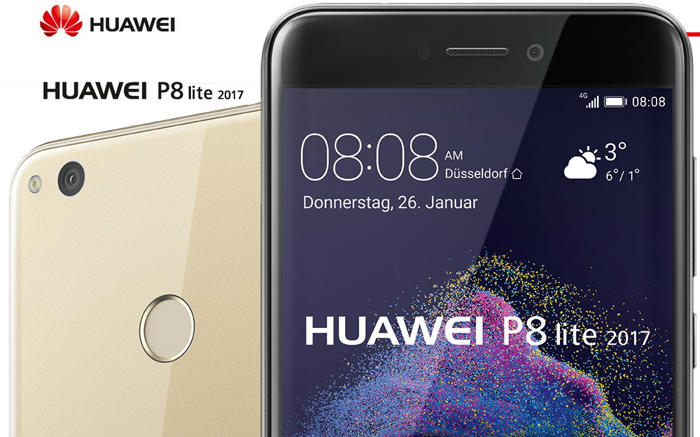 huawei p8 lite 2017 ab ende januar f r 240 euro news. Black Bedroom Furniture Sets. Home Design Ideas