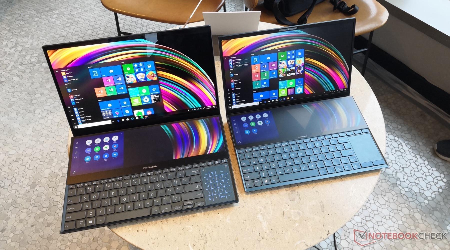 Asus ZenBook Duo & Pro Duo kommen mit riesigem Zweitdisplay