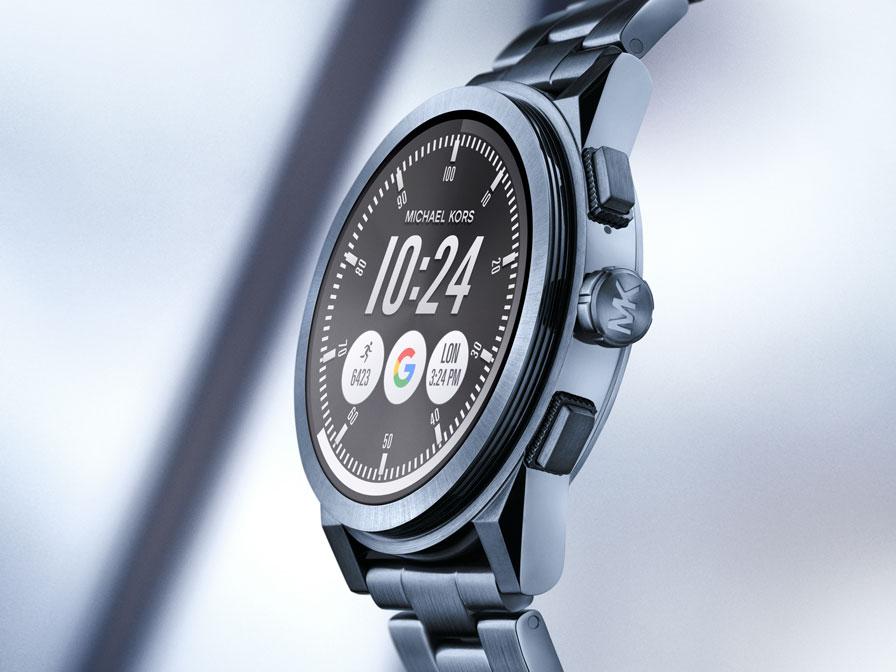 1db3d209226 Michael Kors: Touchscreen Smartwatches Sofie und Grayson ...