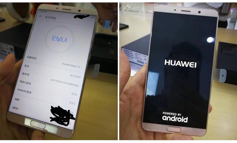 Huawei stellt Mittelklasse-Smartphone Mate 10 Lite vor