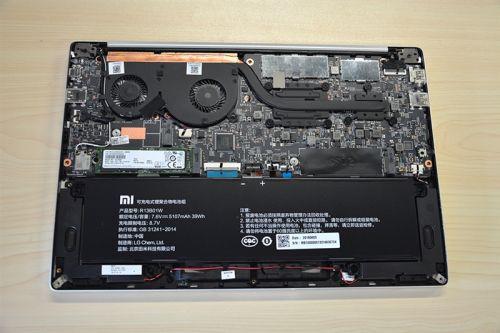 Xiaomi Notebook Teardown So Sehen Sie Von Innen Aus