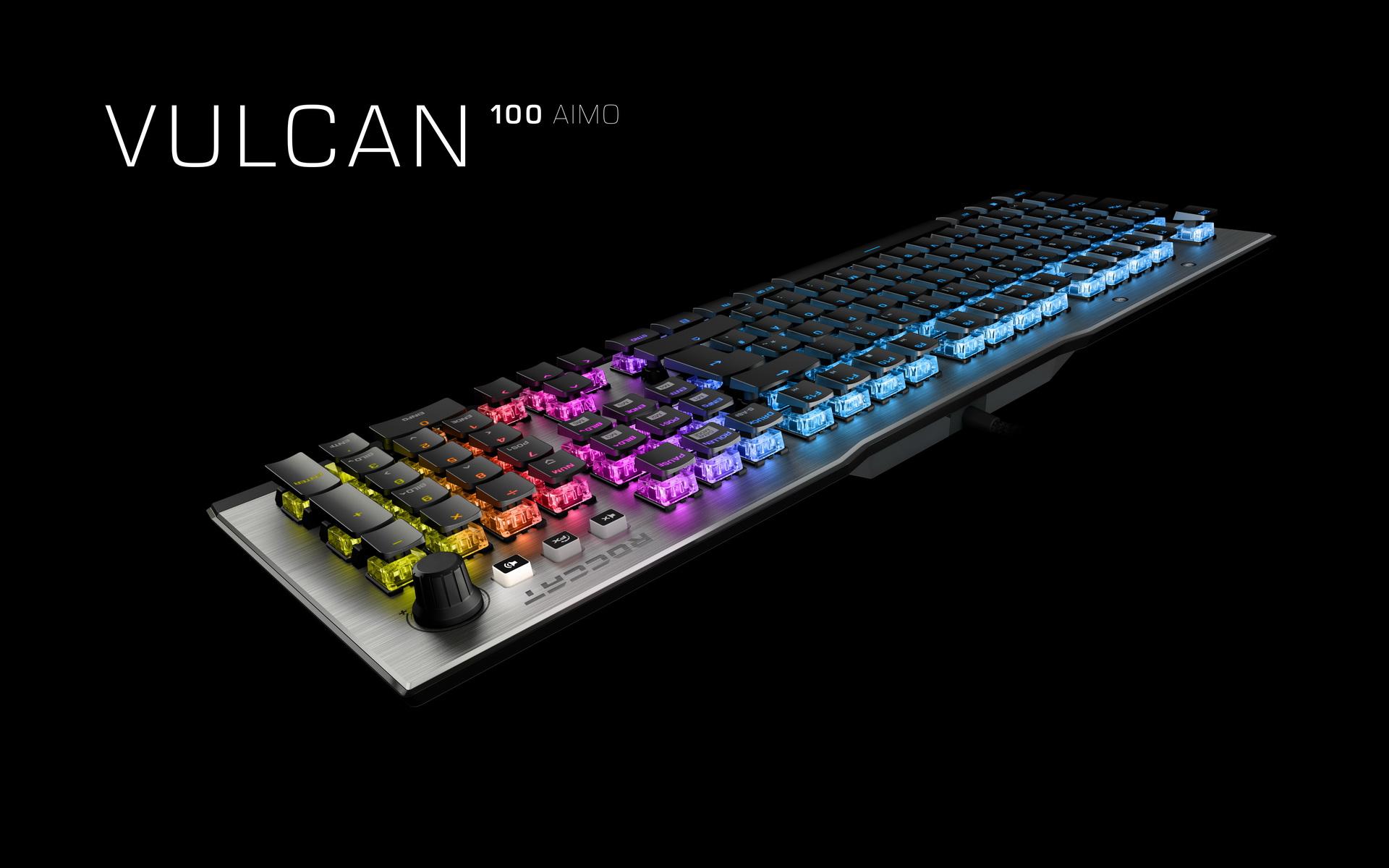 Roccat Vulcan Schlanke Und Stylische Gaming Tastatur Mit