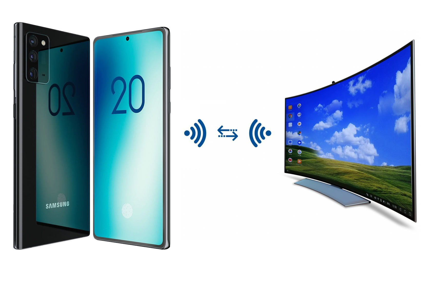 """""""Wireless DeX"""": Smartphone-Inhalte kabellos aufs große Display bringen"""