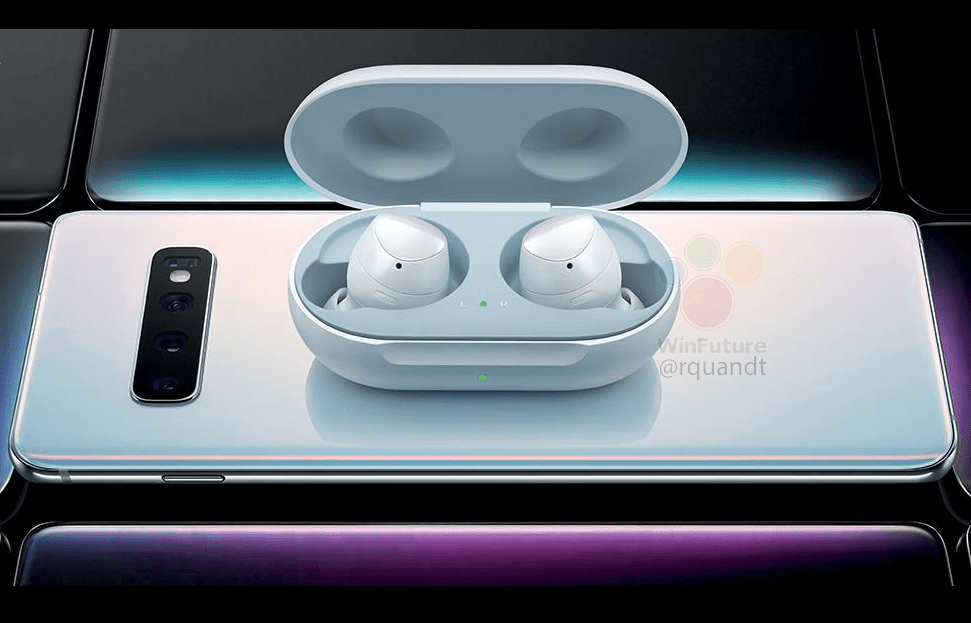 samsung galaxy s10 hands on renderbilder pixel buds. Black Bedroom Furniture Sets. Home Design Ideas