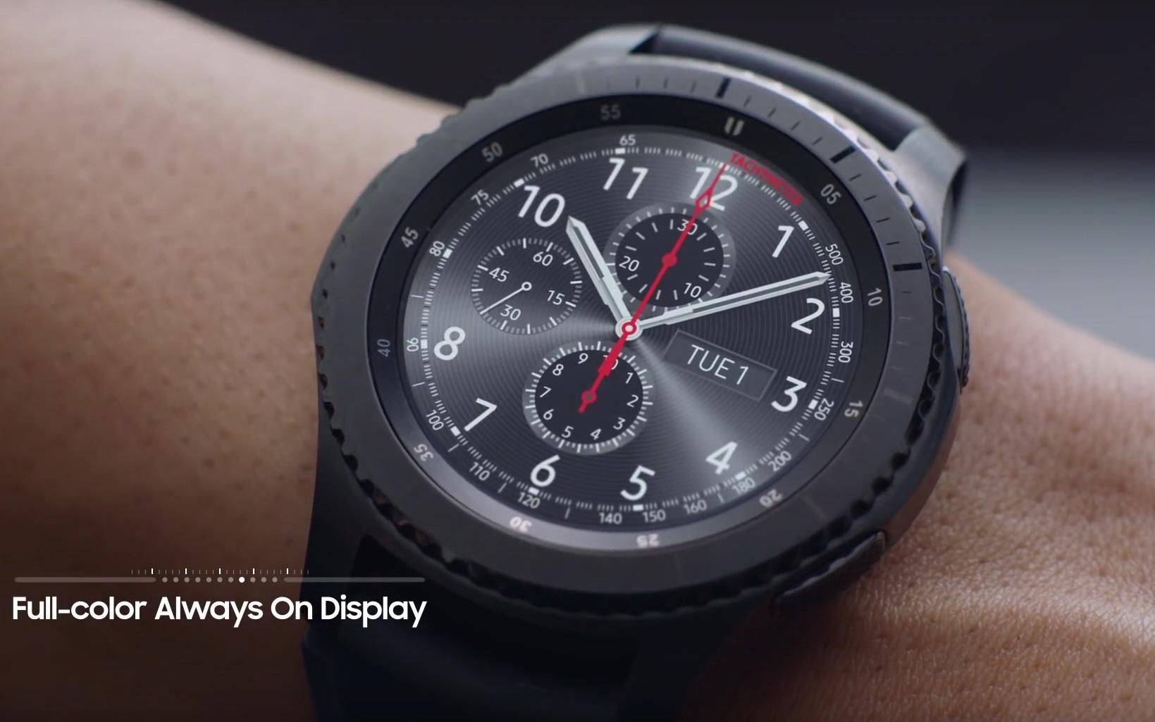samsung gear s3 neue videos zur smartwatch. Black Bedroom Furniture Sets. Home Design Ideas