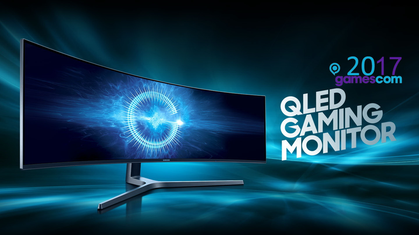 Gamescom 2017 Irre Samsung Zeigt Gr 246 223 Ten Gaming Monitor