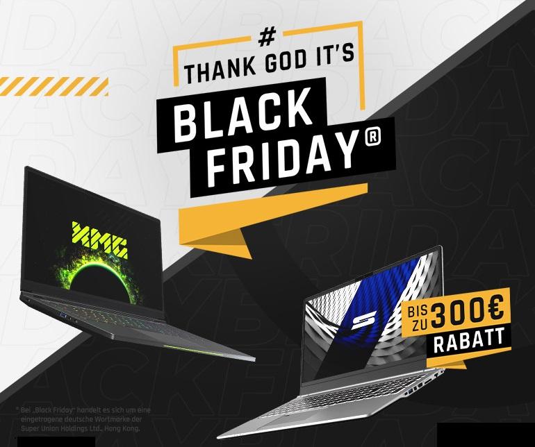 Black Friday Laptop Deals Bis Zu 300 Euro Rabatt Auf Viele Xmg Gaming Laptops Und Schenker Notebooks Notebookcheck Com News