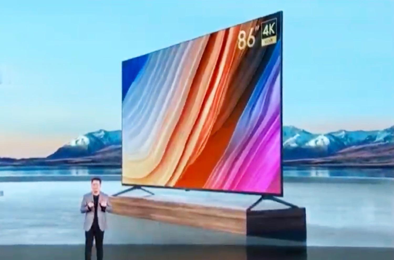 Xiaomis neuester Redmi Smart TV Max bietet 4K, 120 Hz und HDMI 2.1 in der maximalen Größe, die noch durch Türen passt - Notebookcheck.com