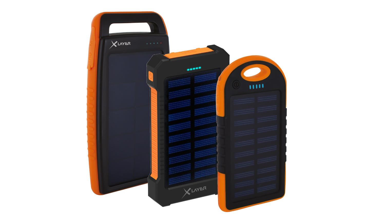 powerbanks xlayer powerbank plus solar zapfen die sonne. Black Bedroom Furniture Sets. Home Design Ideas