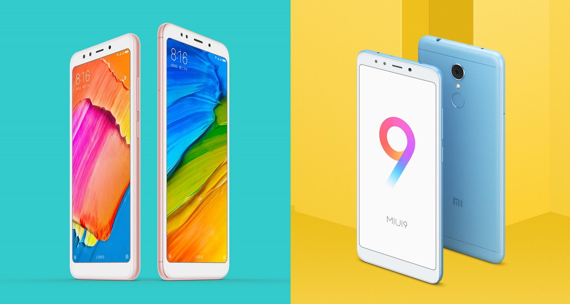 Xiaomi Redmi 5 und Redmi 5 Plus vorgestellt: Specs und Preise