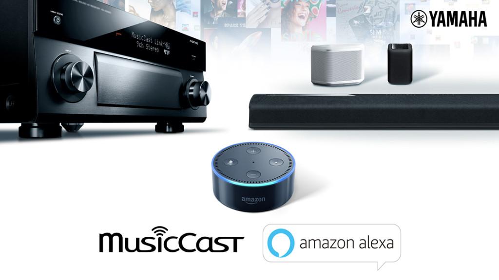Yamaha Musiccast Amazon Music