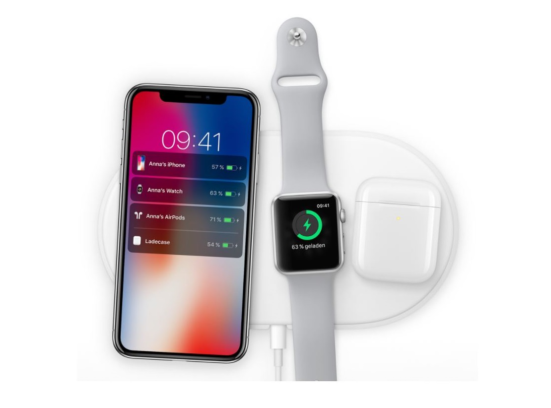 apple airpower sneak peek auf ein all in one ladepod von. Black Bedroom Furniture Sets. Home Design Ideas