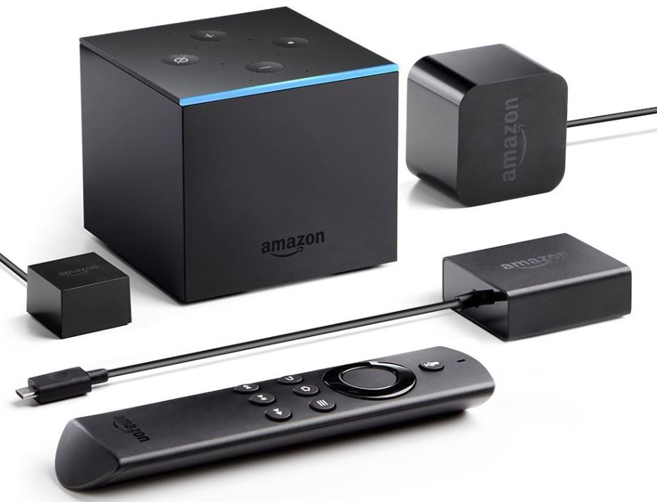 fire tv cube streaming box mit alexa support ist. Black Bedroom Furniture Sets. Home Design Ideas