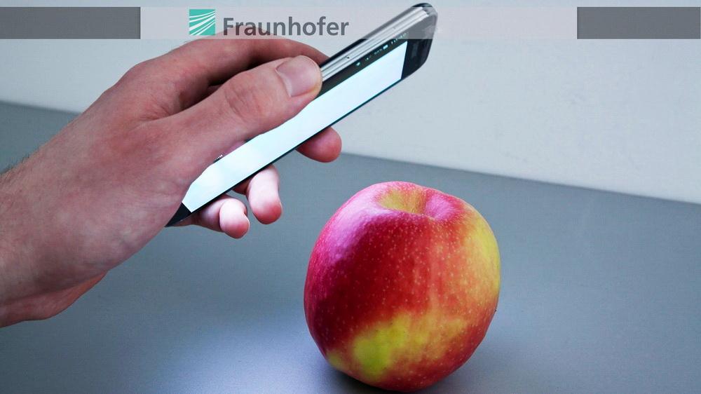 smartphones fraunhofer iff app entlarvt pestizide im apfel news. Black Bedroom Furniture Sets. Home Design Ideas