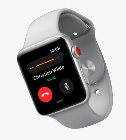 Apple Watch 3 LTE Bestatigt Verbindungsprobleme