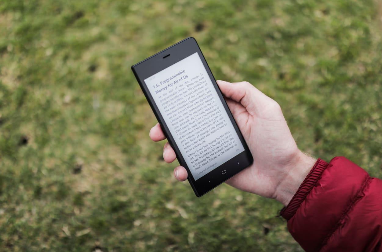 Kingrow K1: E-Ink-Smartphone ab sofort vorbestellbar ...