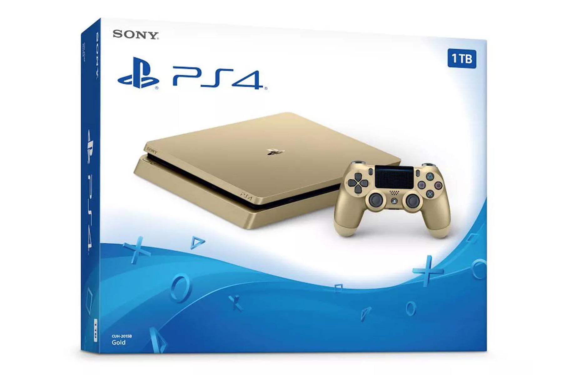 Sony PlayStation 4 in Gold vorgestellt