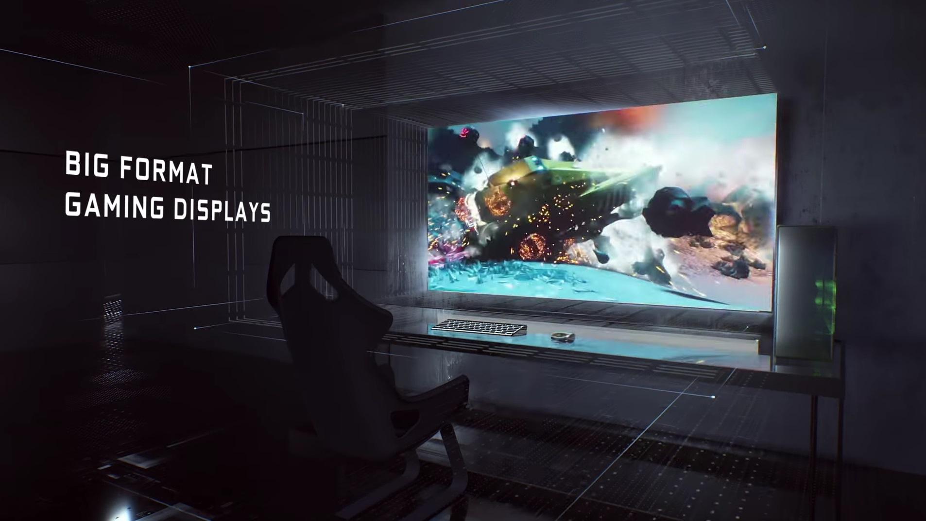 BFGD: Nvidia bringt riesige 65-Zoll-Monitore für Gamer