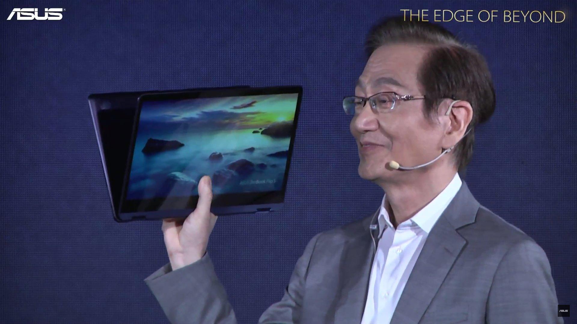 Asus ZenBook Flip S vorgestellt: Das angeblich dünnste Convertible der Welt