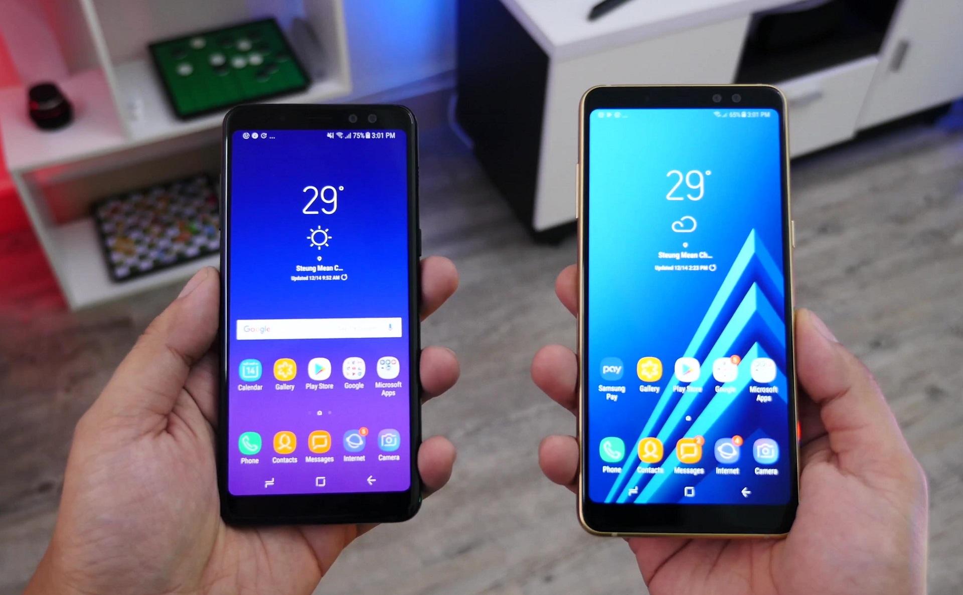 Samsung Galaxy A (2018): Neue Bilder zeigen die Geräte