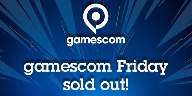 Gamescom 2017: Der Messefreitag ist ausverkauft
