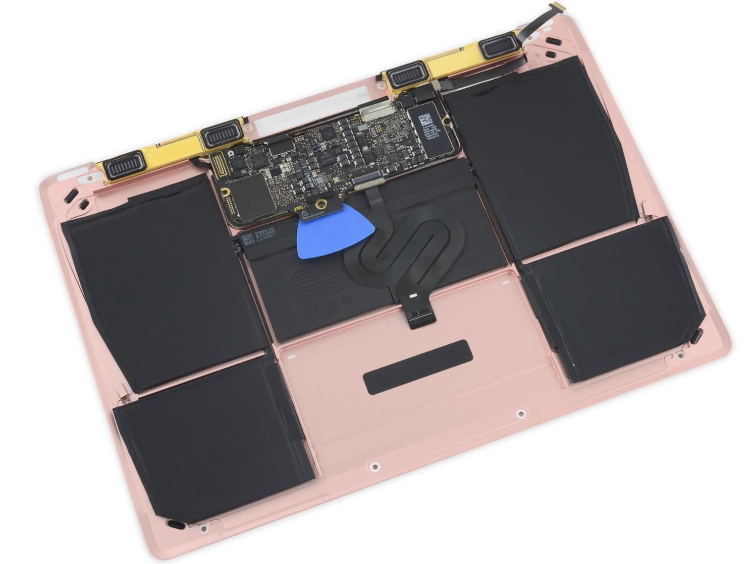 Ifixit Auch Macbook 12 2016 L 228 Sst Sich Schwer