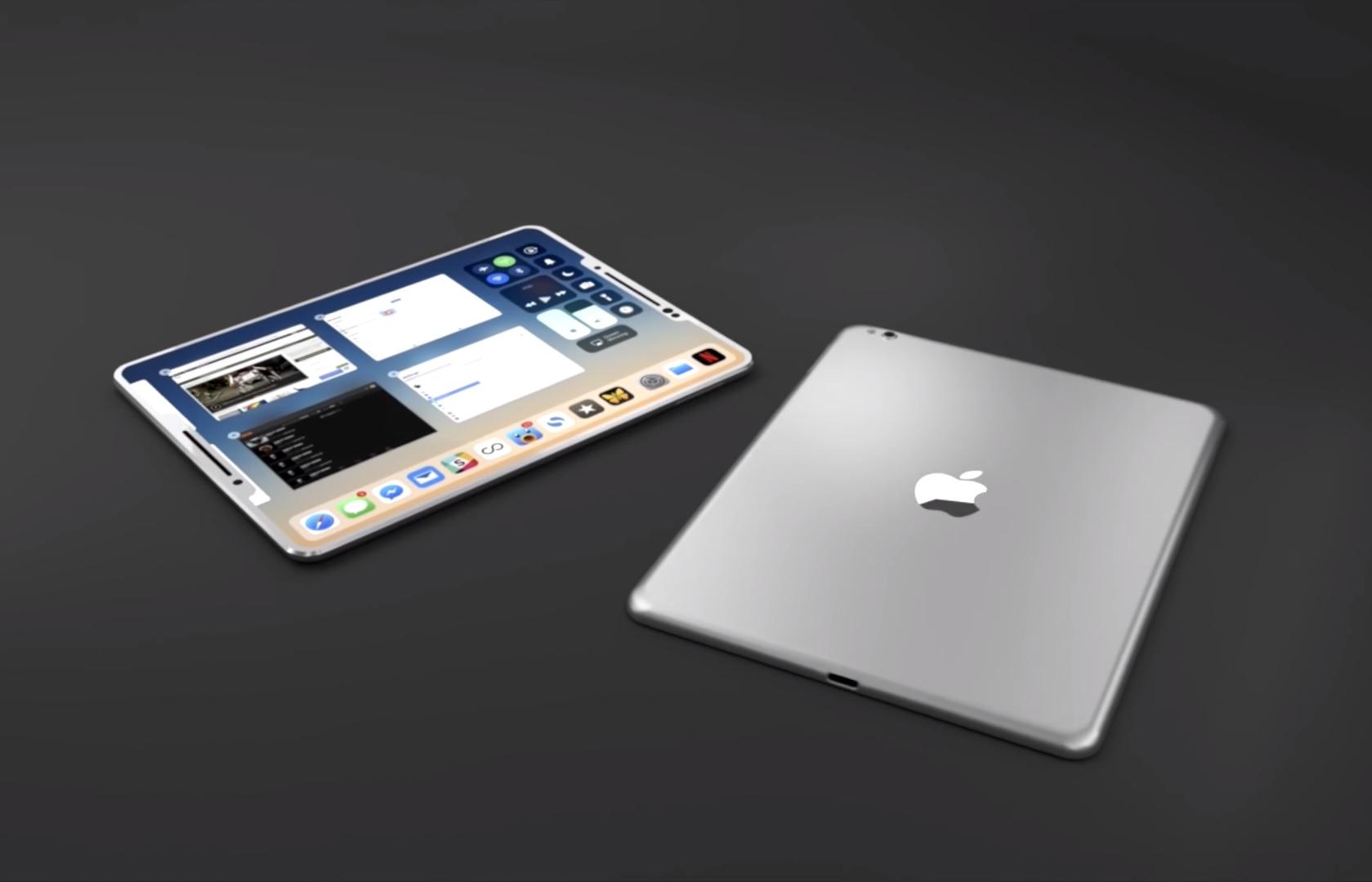Apple Ipad X Full Screen Ipad Mit Face Id Soll 2018