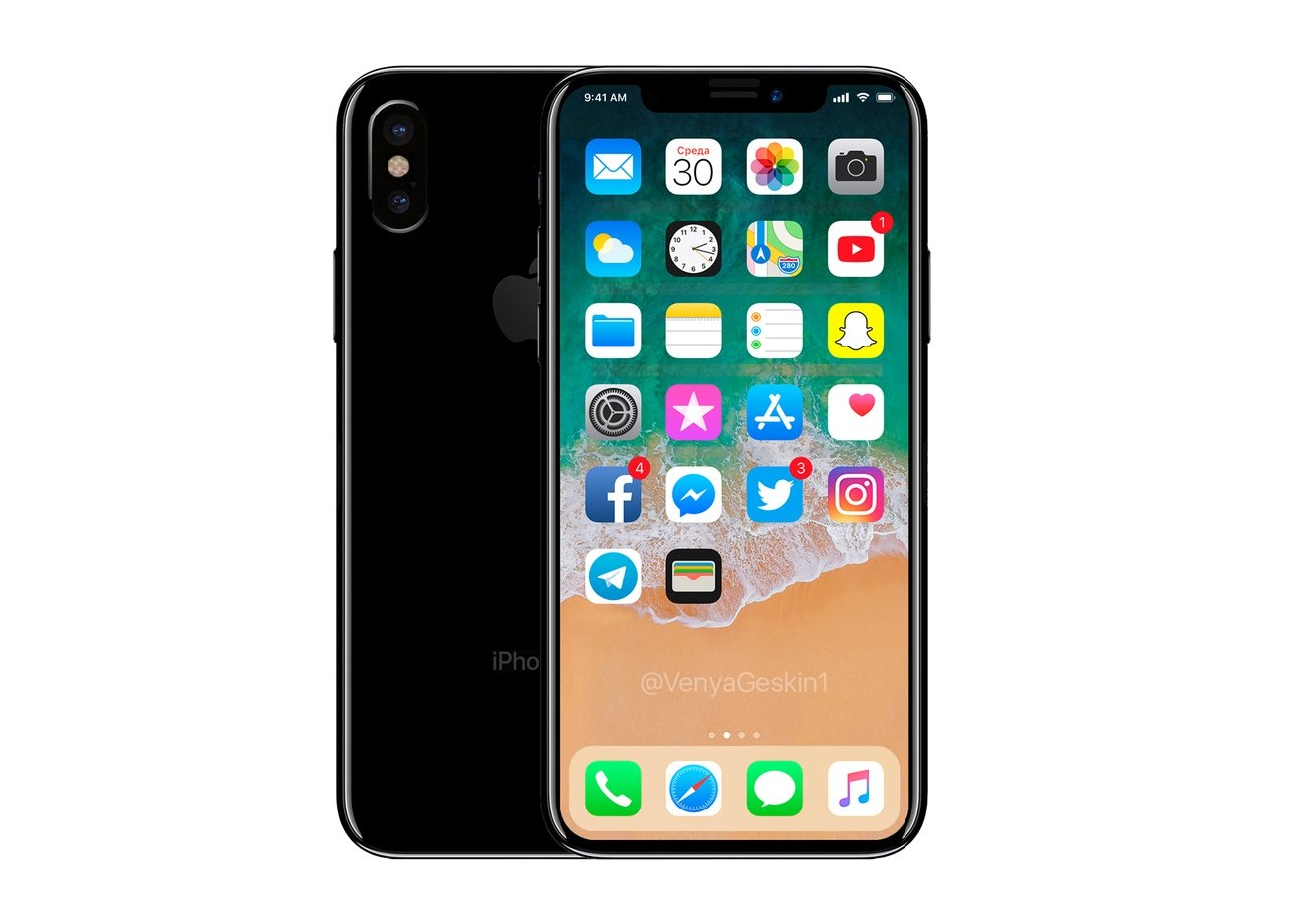 apple iphone 9 in 2018 zwei randlose oled modelle als. Black Bedroom Furniture Sets. Home Design Ideas