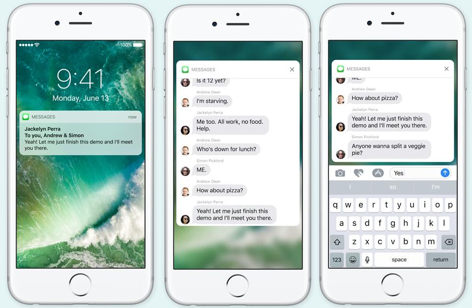 Apple: Lob für den neuen Lockscreen in iOS 10 ...
