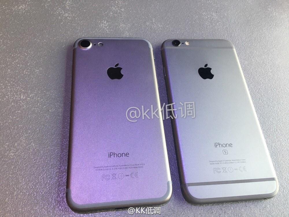 apple iphone 7 gegen iphone 6s in chinesischem hands on. Black Bedroom Furniture Sets. Home Design Ideas