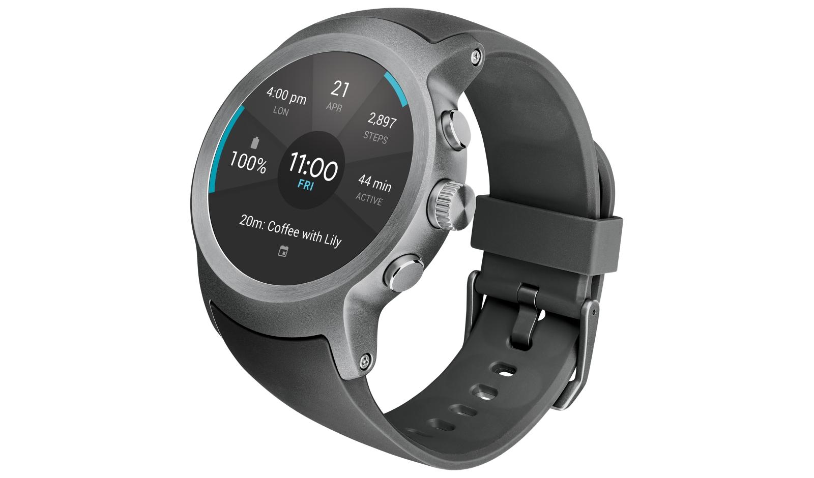 neue hybrid smartwatch von lg soll hundert tage. Black Bedroom Furniture Sets. Home Design Ideas