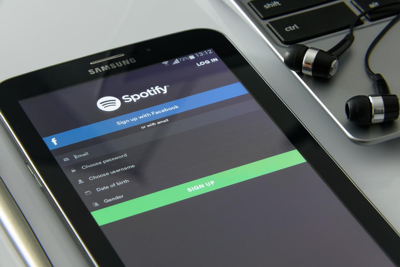 Spotify steigerte Umsatz, ist aber nach wie vor in der Verlustzone