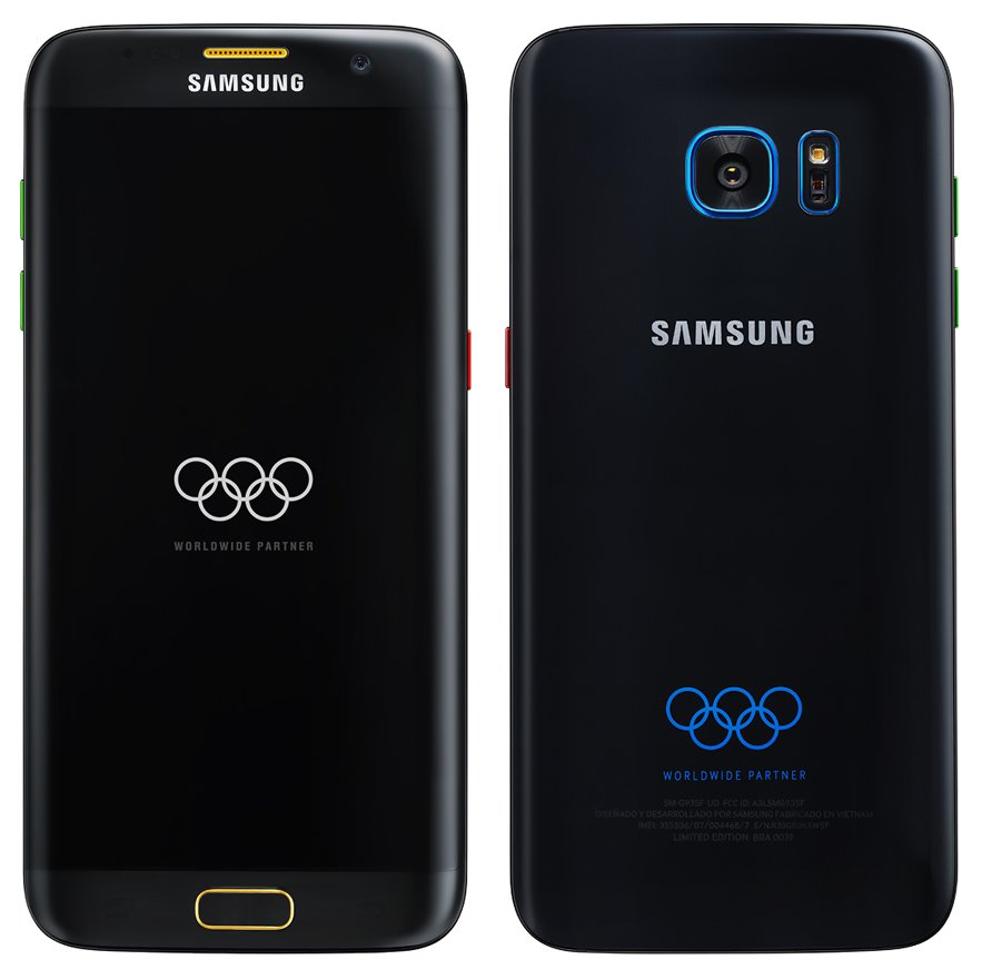 samsung galaxy s7 edge olympia edition am 7 7 news. Black Bedroom Furniture Sets. Home Design Ideas
