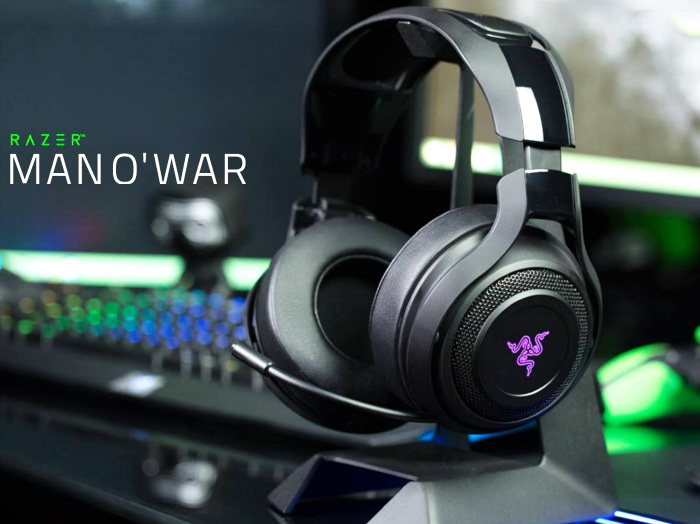 razer mano 39 war kabelloses gaming headset mit 7 1 virtual. Black Bedroom Furniture Sets. Home Design Ideas